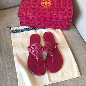 Tory Burch Miller Sandals Size 8 - Pink